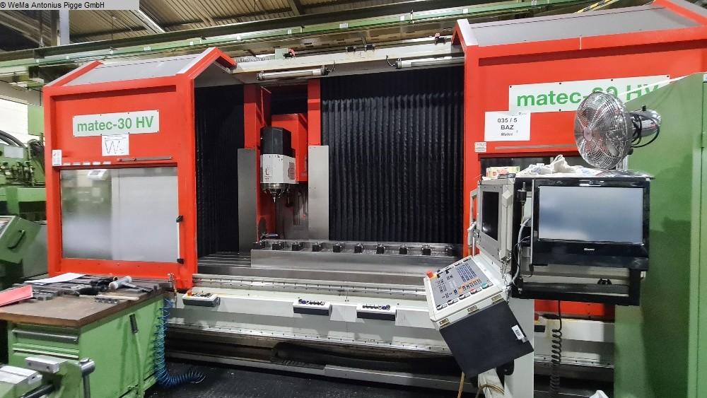 gebrauchte Metallbearbeitungsmaschinen Fahrständerfräsmaschine MATEC 30 HV