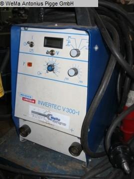 gebrauchte Schweissmaschinen etc. Schweißanlage MESSER LINCOLN Invertec V300-1