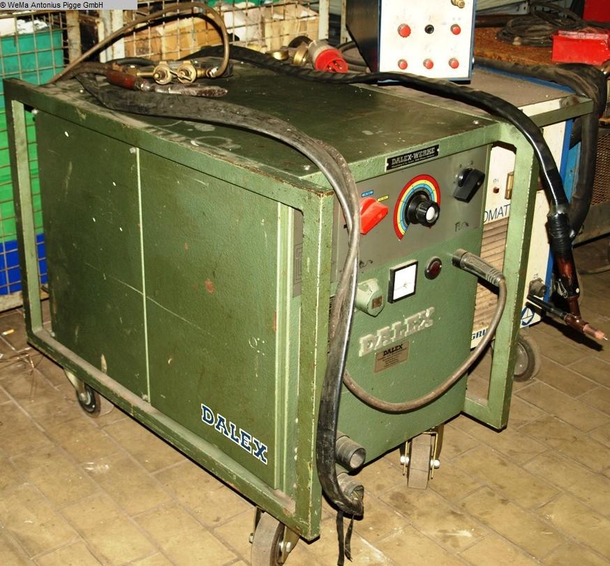 gebrauchte Schweissmaschinen etc. WIG-Schweißgerät DALEX TGKW 55