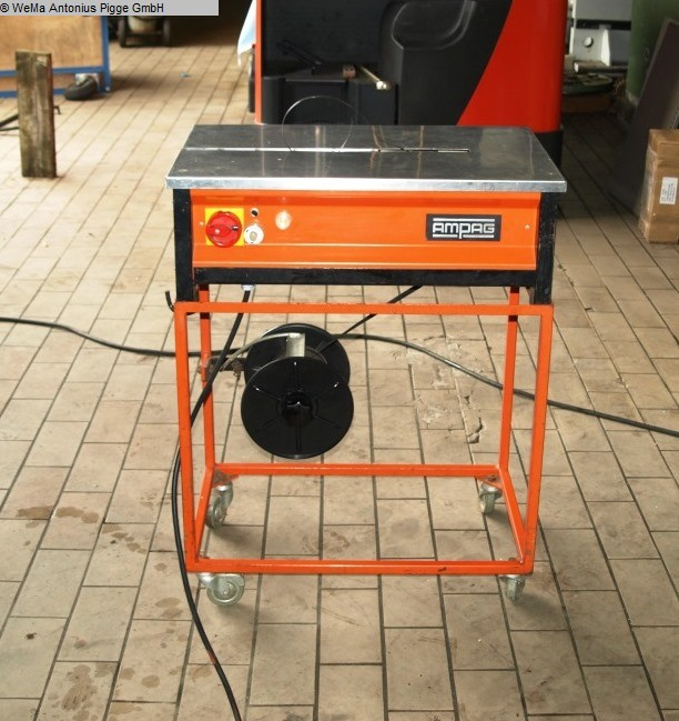 gebrauchte Verpackungsmaschinen Umreifungsmaschine AMPAG - KöLN Mano