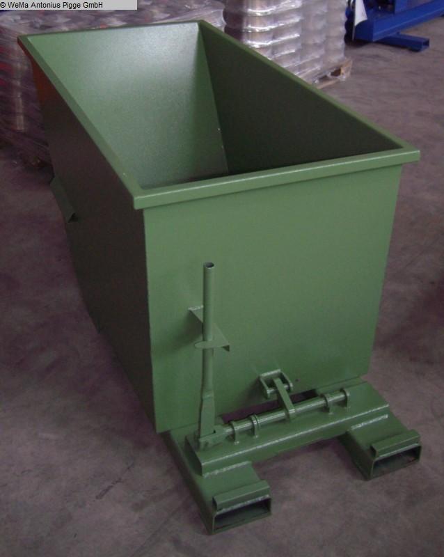 gebrauchte Lagertechnik EIGENBAU RAL 6011