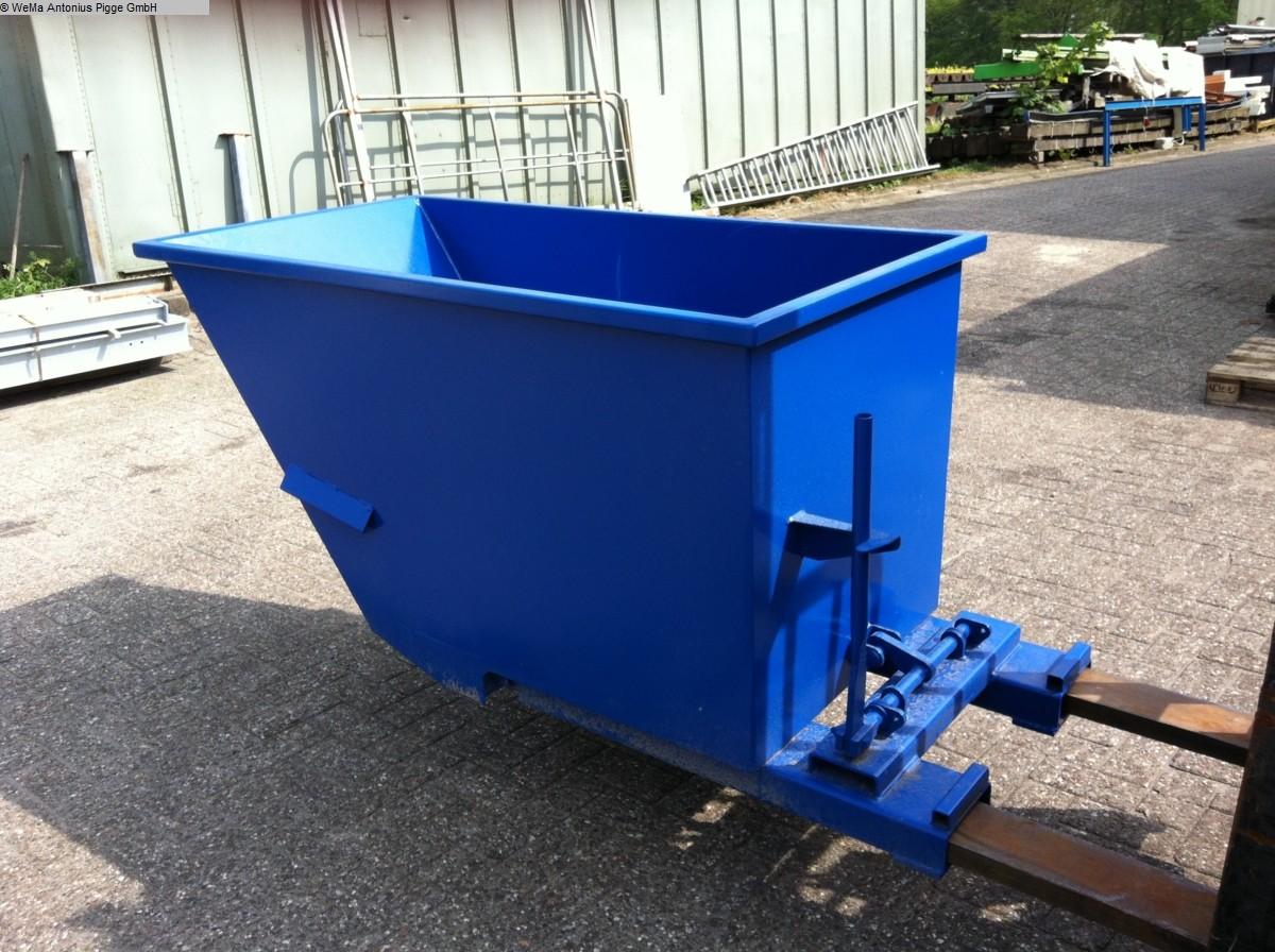 gebrauchte Lagertechnik EIGENBAU RAL 5010