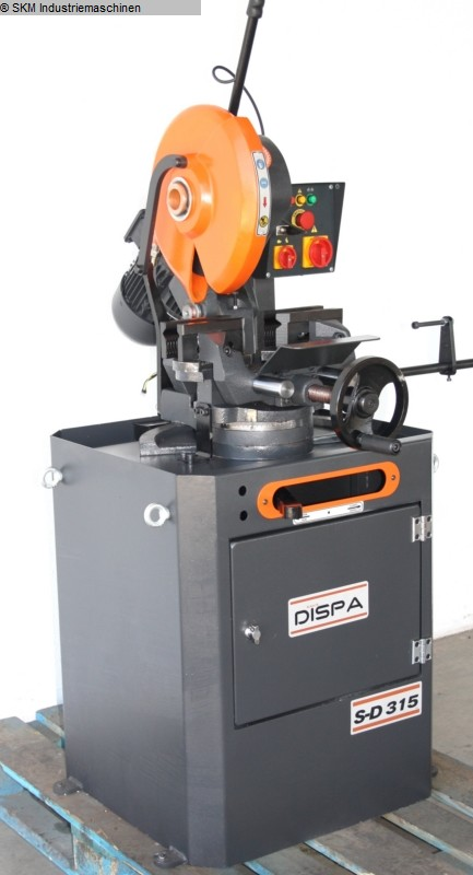 used Saws Cold Circular Saw DISPA S-D 315