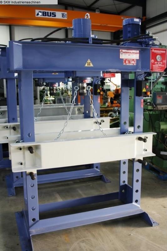 gebrauchte  Werkstattpressen - hydraulisch HIDROLIKSAN HD 80