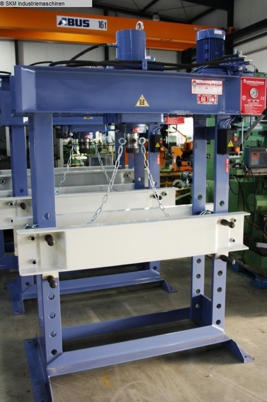 used  Tryout Press - hydraulic HIDROLIKSAN HD 80