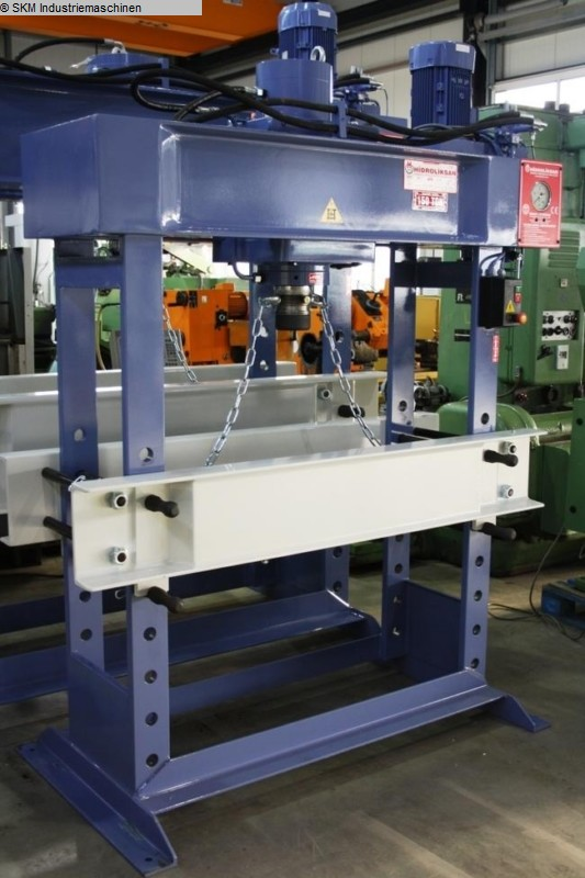used  Tryout Press - hydraulic HIDROLIKSAN HD 160