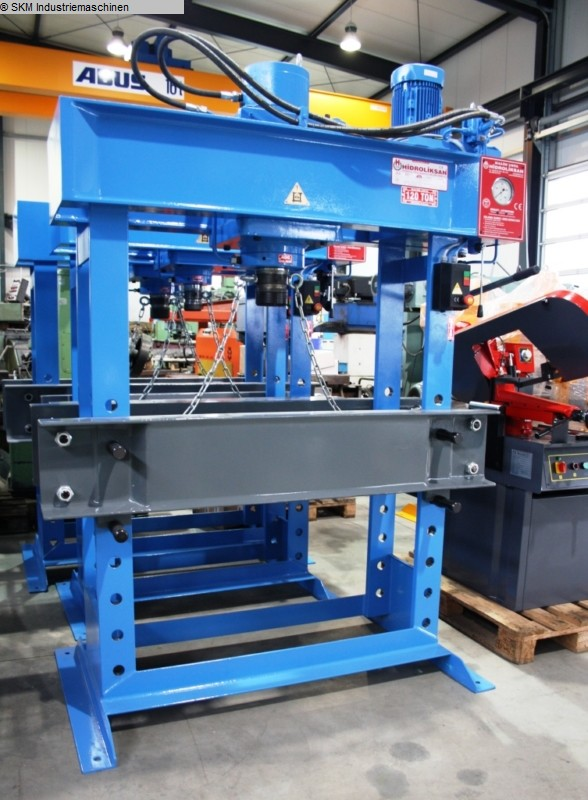 used  Tryout Press - hydraulic HIDROLIKSAN HD 120