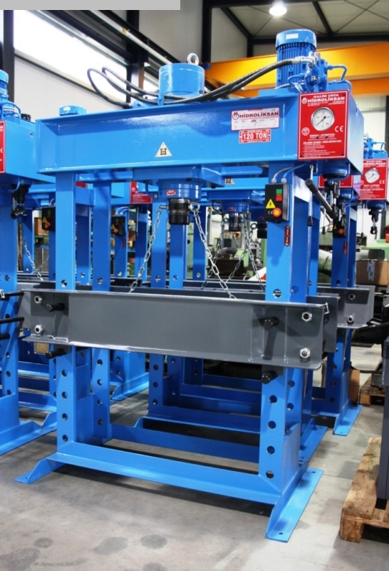 used  Tryout Press - hydraulic HIDROLIKSAN HD 200