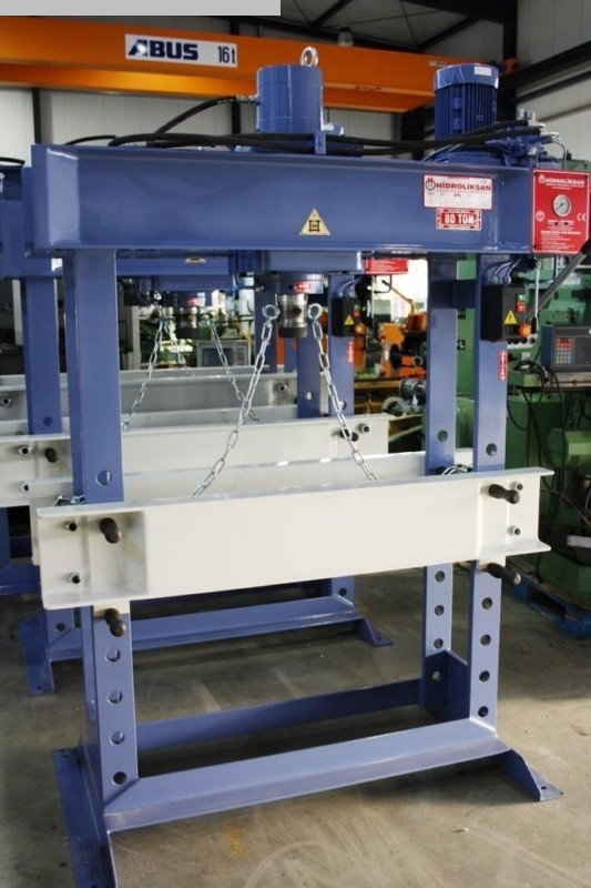 used  Tryout Press - hydraulic HIDROLIKSAN HD 60
