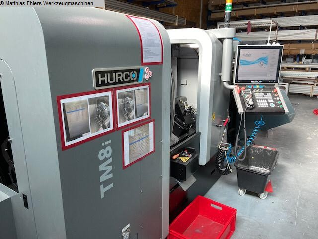 used Lathes CNC Lathe HURCO TM 8 i
