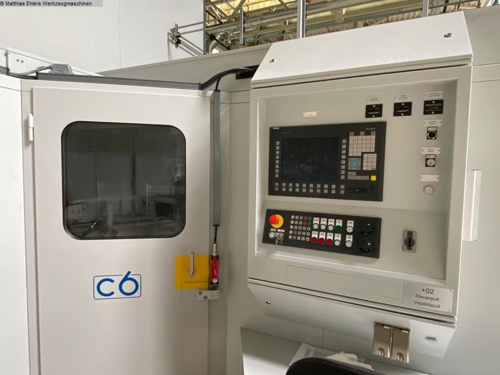 used Gear cutting machines Cold Rolling Machine GROB C6-A-1020