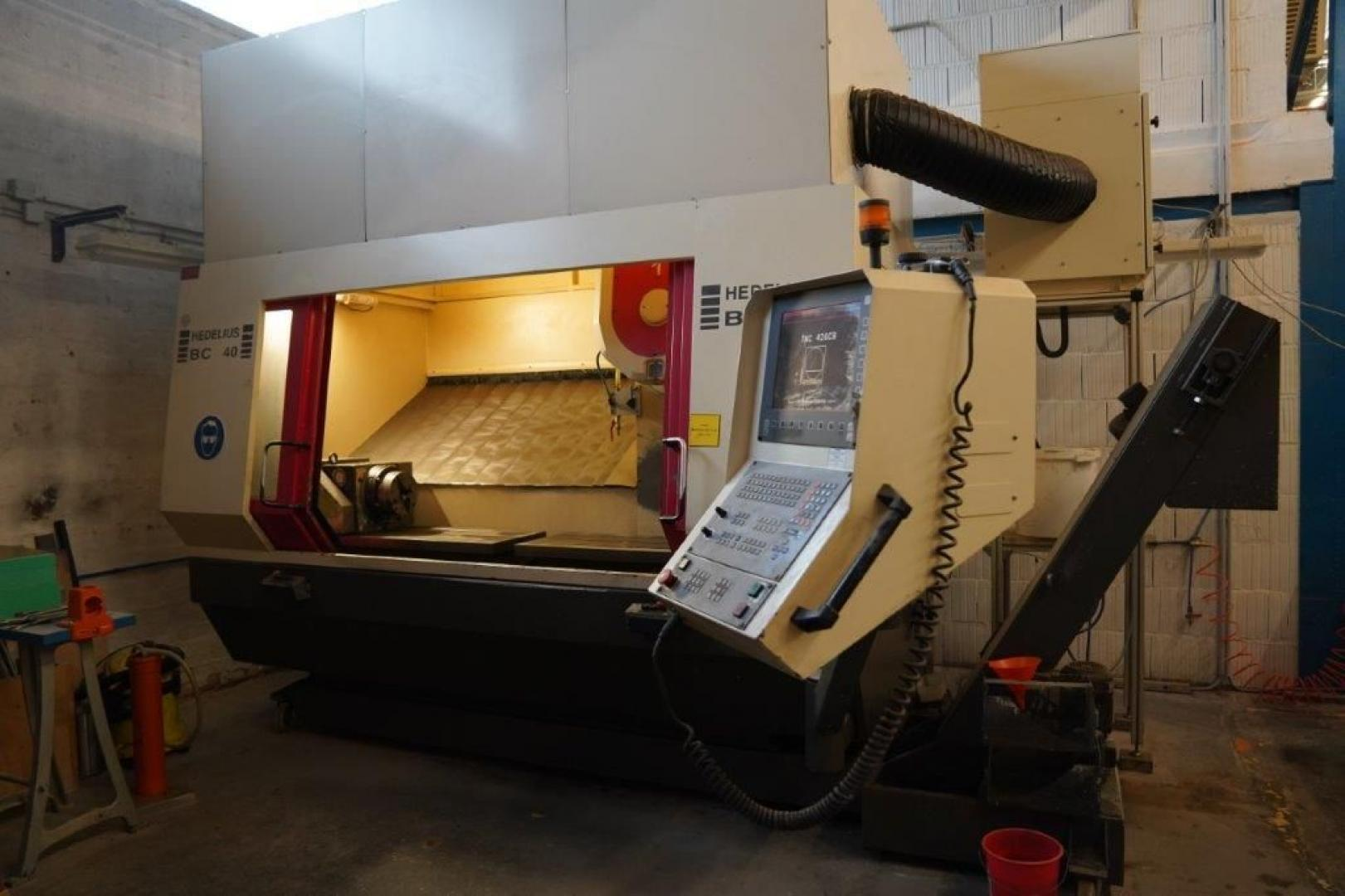 used  Machining Center - Vertical Hedelius BC 40 D/20