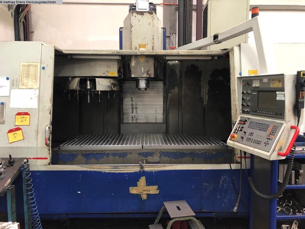 used  Machining Center - Vertical ZPS 2080