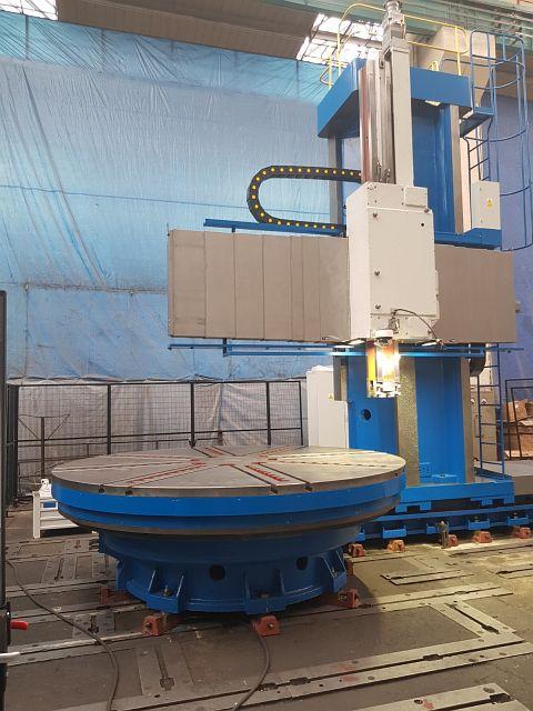 used  CNC-Vertical Turret Lathe - Single Col. CKD BLANSKO SKJ 32/63