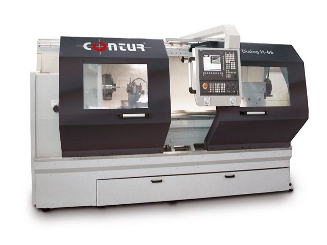 used  Lathe -  cycle-controlled CONTUR DIALOG H-66