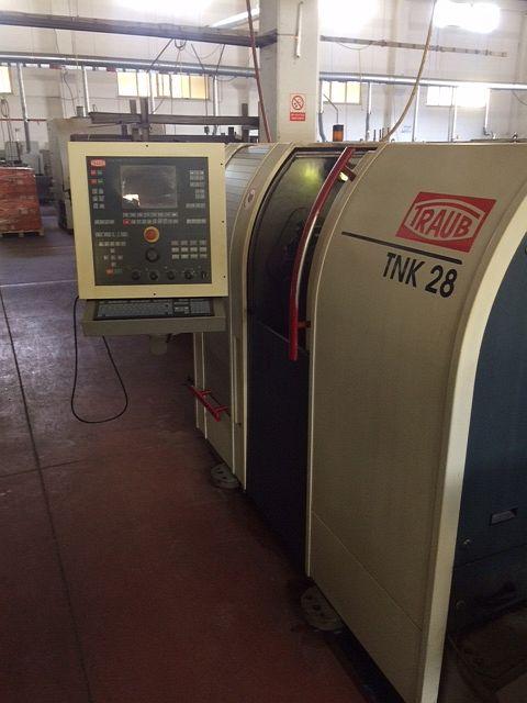 used  Turning Automatic Lathe - swiss lathe TRAUB TNK 28