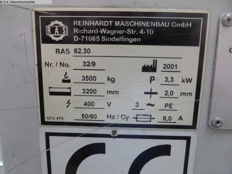 gebrauchte Maschine Schwenkbiegemaschine RAS 63.30
