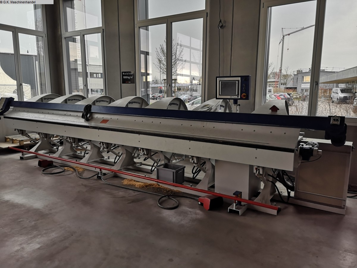 gebrauchte Blechbearbeitung / Scheren / Biegen / Richten Abkantmaschine Biegemaster DURA 6.1,50