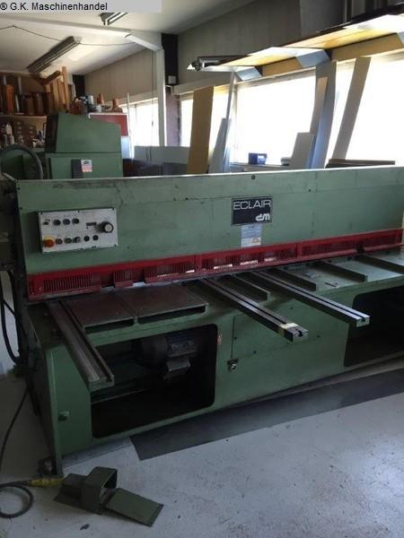 used  Plate Shear - Hydraulic ECLAIRE (SCHWEIZ) e.200x4 mm