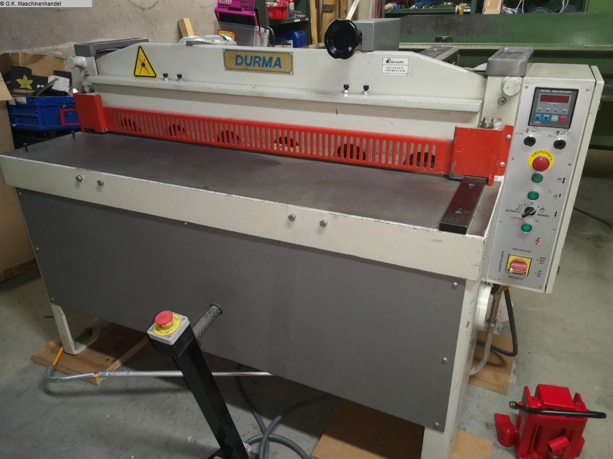 rabljeni listovi obrade lima / dijelovi / savijanje škare za savijanje - mehanički 1DURMAZLAR RGM1303