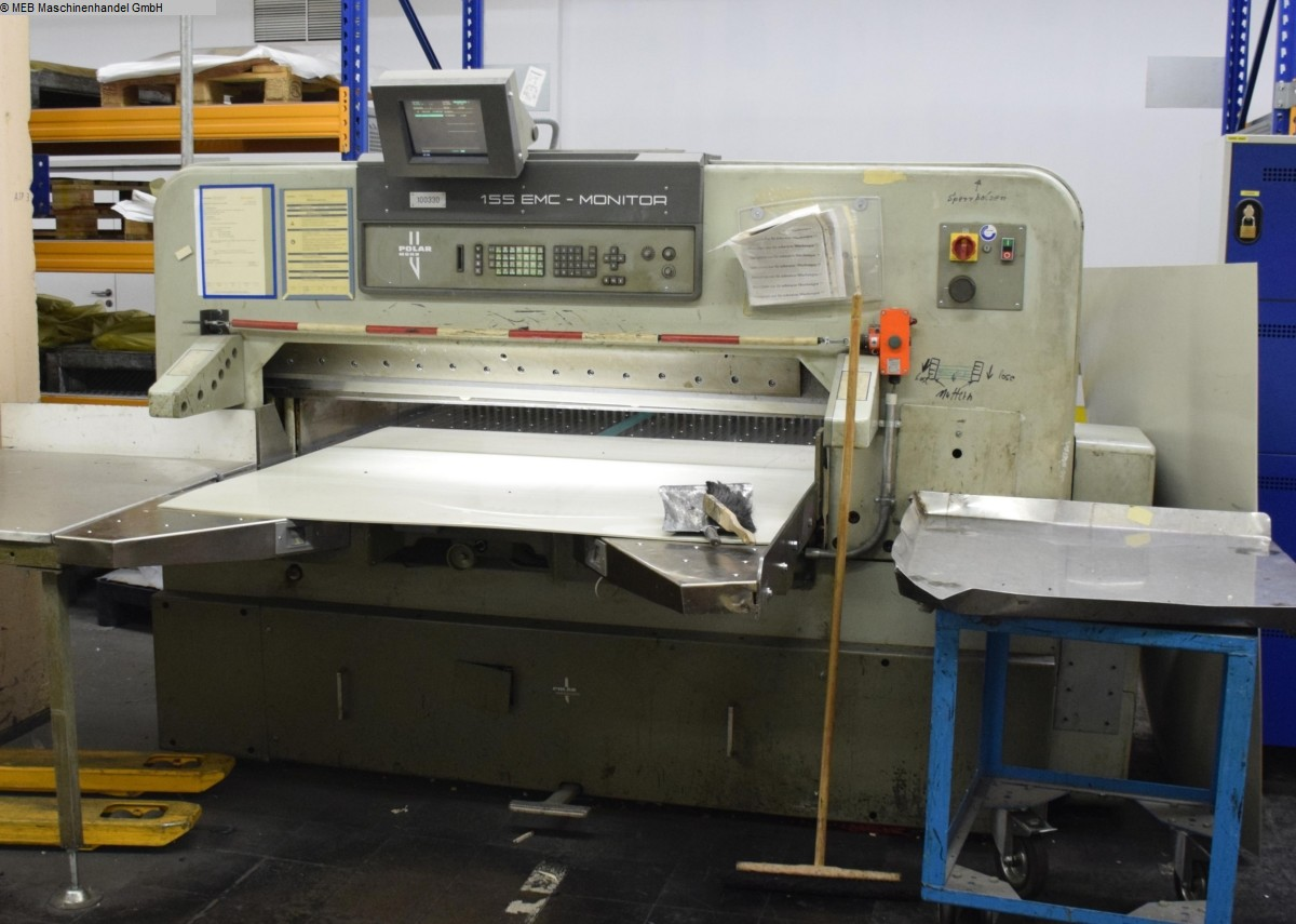used Cutting Cutting machines HEIDELBERG Querschneidmaschine Polar 155