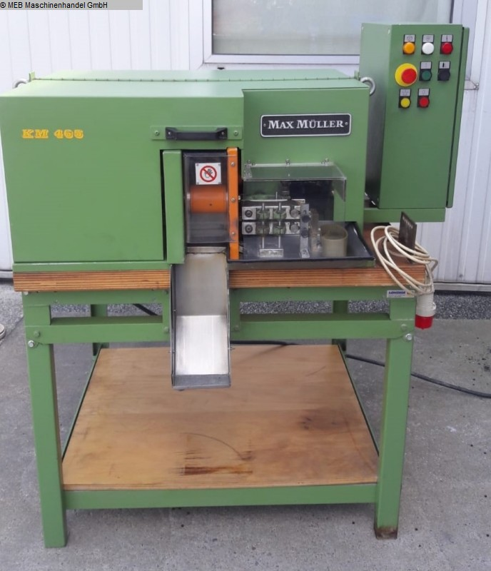 used Cutting Cutting machines MAX MÜLLER KM 465