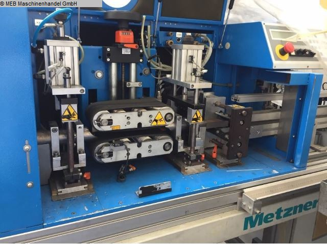 Kullanılmış Kesme Kesme makineleri METZNER MASCHINENBAU Ablaengautomat MBS 31117