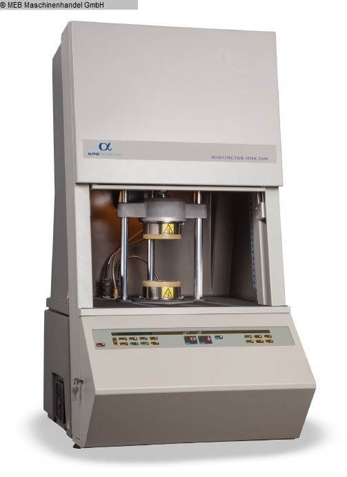 gebrauchte Elastomer-Prüfgeräte Rheometer ALPHA TECHNOLOGIES Rheometer MDR 2000