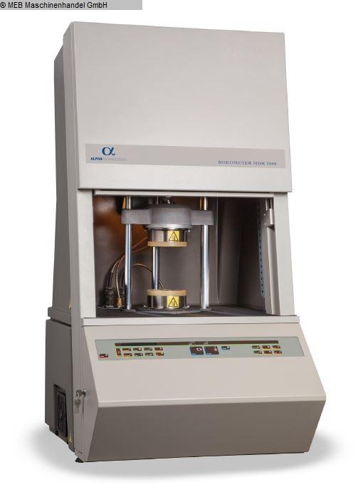 rhéomètre de test en élastomère rhéomètre ALPHA TECHNOLOGIES MDR 2000