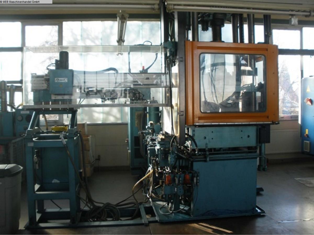 gebrauchte Spritzguß Gummi-Spritzgussmaschine KLOECKNER-FERROMATIC FM 140 2K/250 V