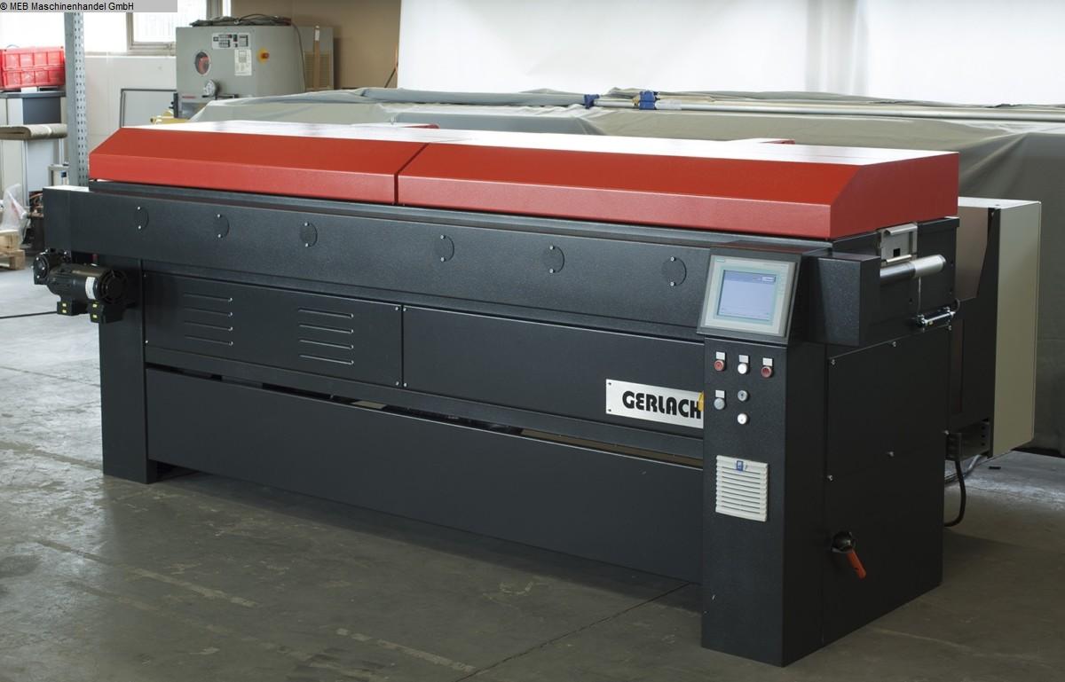 gebrauchte Gummiverarbeitungsmaschinen Anlagen, komplett GERLACH Maschinenbau Heissluft Shock Kanal 111