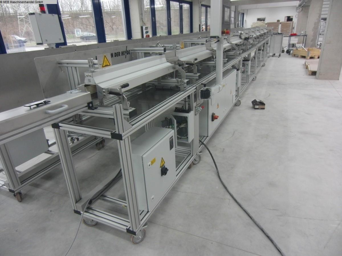 gebrauchte Gummiverarbeitungsmaschinen Anlagen, komplett HANS VON DER HEYDE Pultrusions-/Heizlinie