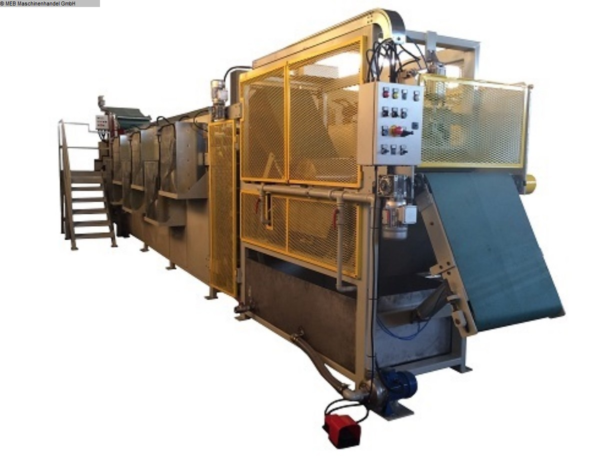 gebrauchte Gummiverarbeitungsmaschinen Anlagen, komplett MEB Batch-Off 700