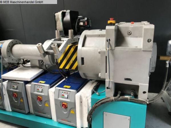 gebrauchte Gummiverarbeitungsmaschinen Extruder Gummi Yato 120er x 17D