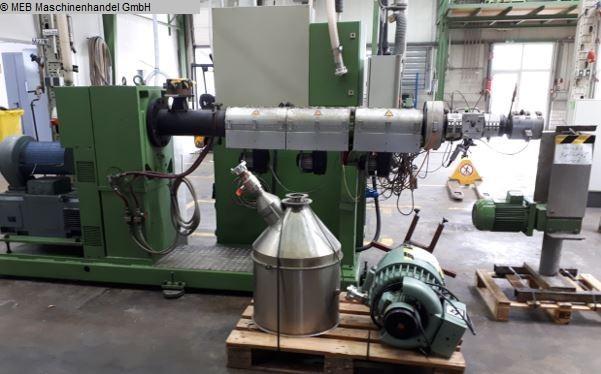 gebrauchte Gummiverarbeitungsmaschinen Extruder Kunststoff KUHNE K70-24D