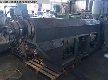 gebrauchte Gummiverarbeitungsmaschinen Extruder Kunststoff Sikoplast HKS 180-120, Granulieranlage