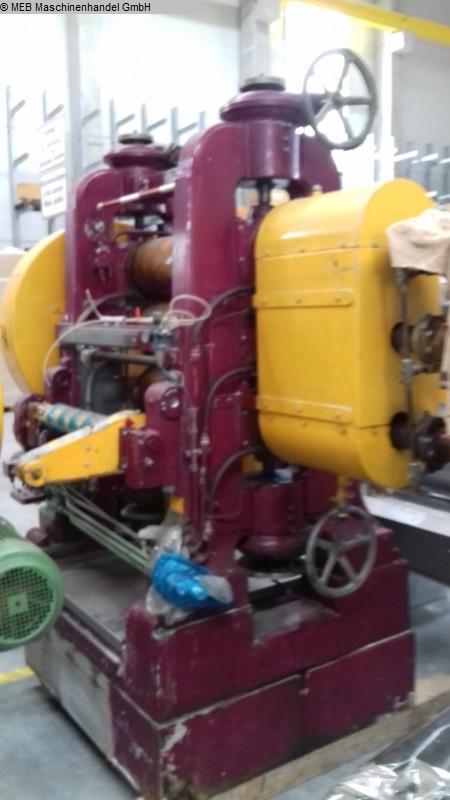 gebrauchte Gummiverarbeitungsmaschinen Kalander BERSTORFF 3-Walzen, I-Kalander