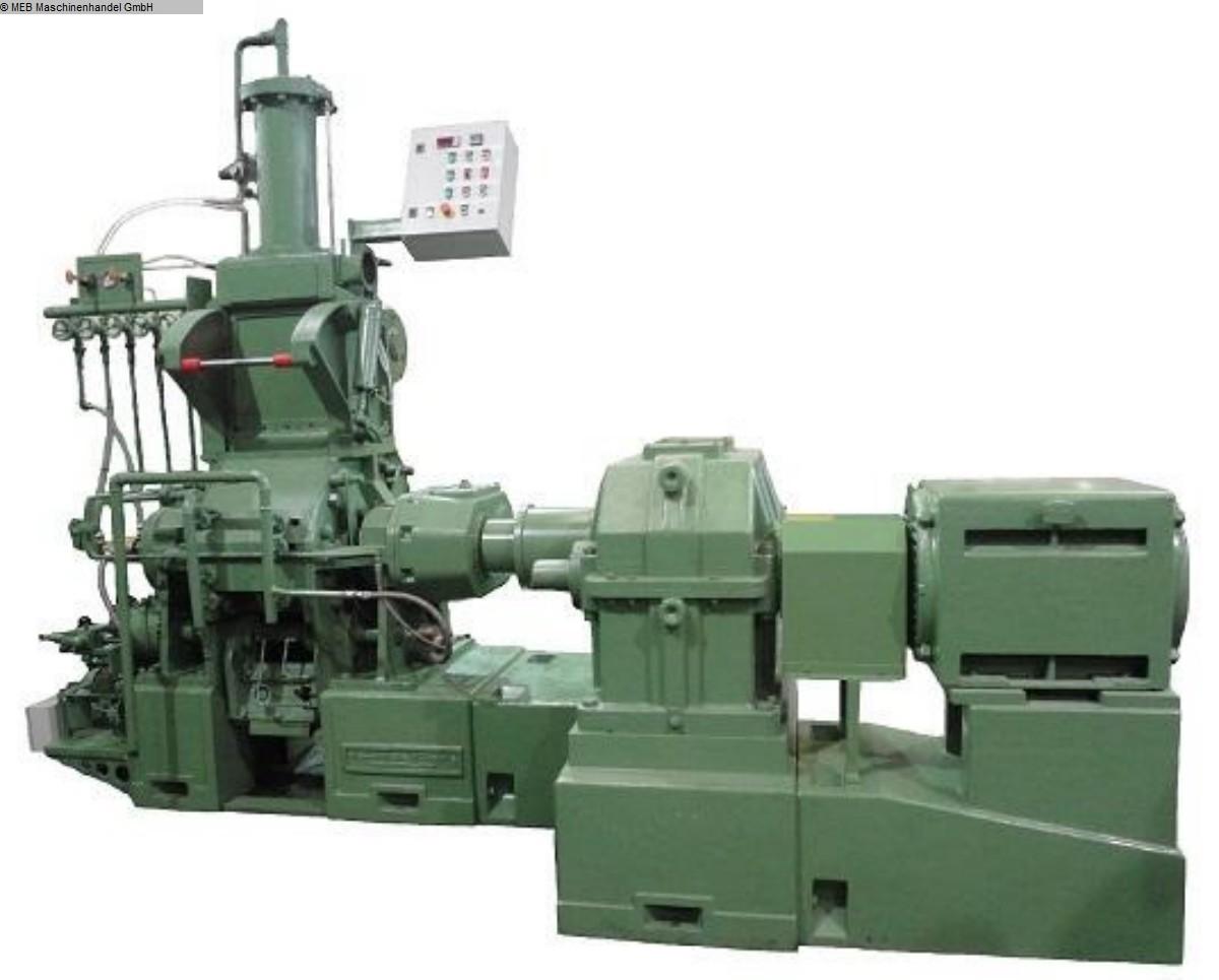 gebrauchte Gummiverarbeitungsmaschinen Mischer Meccaniche Moderne BETA 26