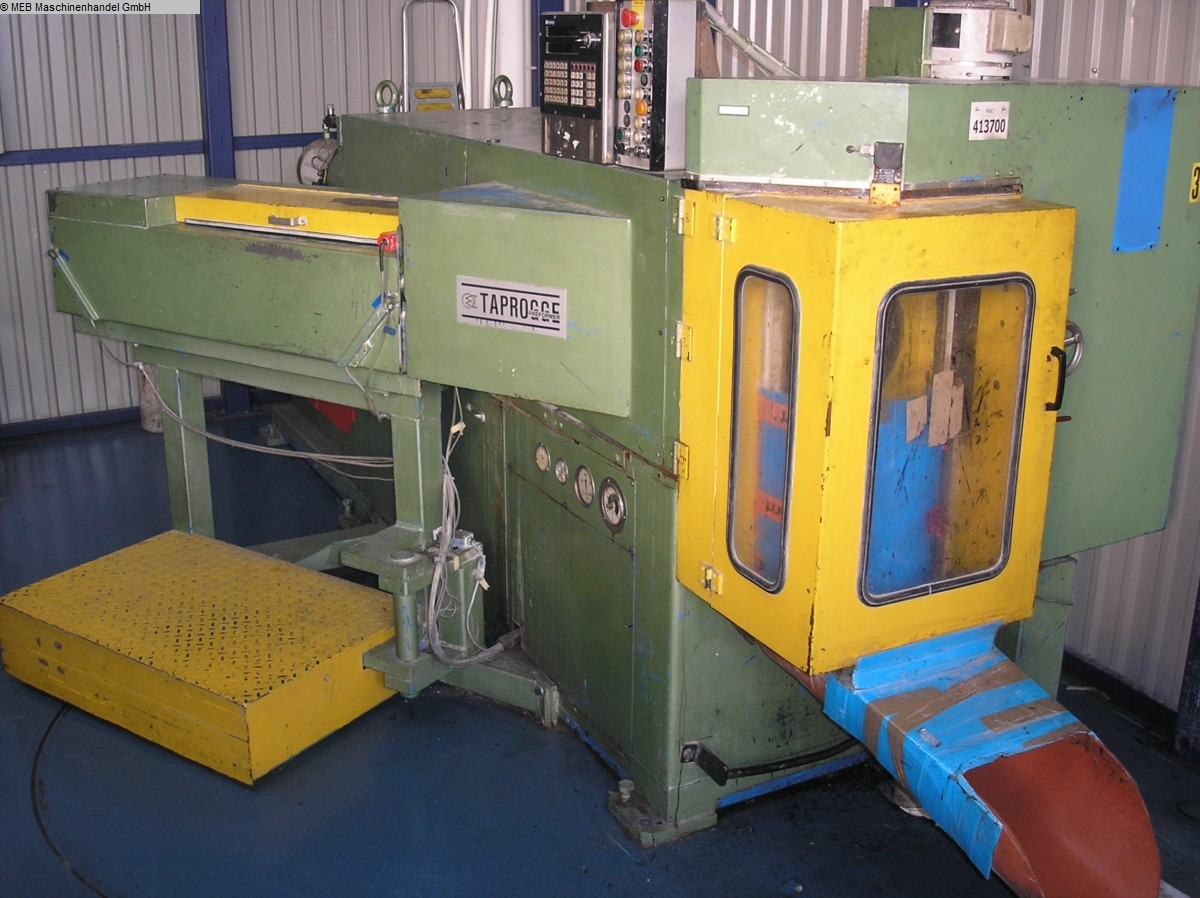 gebrauchte Gummiverarbeitungsmaschinen Rohlingsautomat CROWE Economy E 40