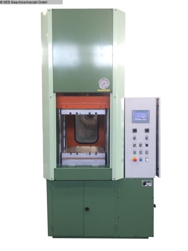 gebrauchte Gummiverarbeitungsmaschinen Vulkanisierpresse TERENZIO 500 x 500 mm