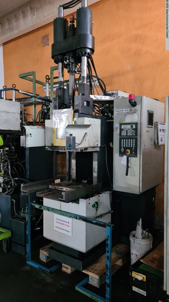 used Injection Moulding Injection-moulding machine (rubber) DESMA 956.050 ZO
