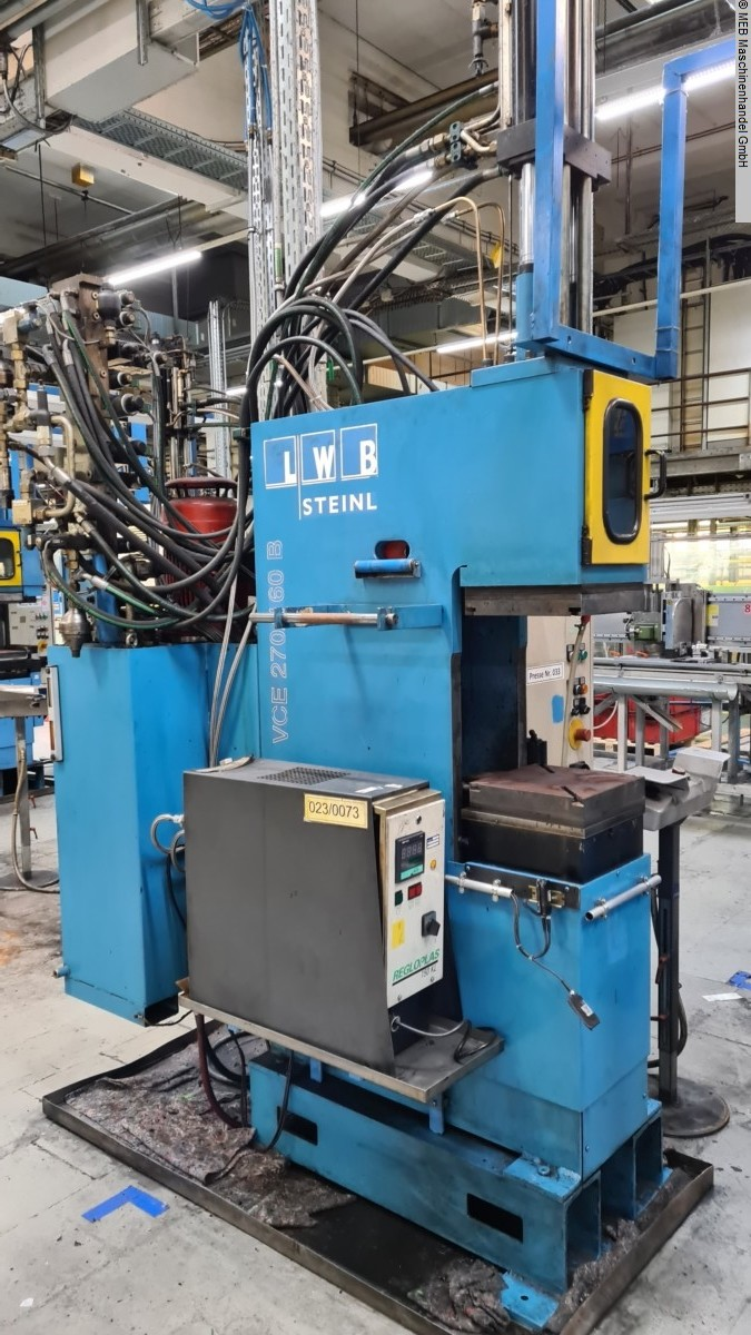 used Injection Moulding Injection-moulding machine (rubber) LWB Steinl VCE 270/160 B Compact