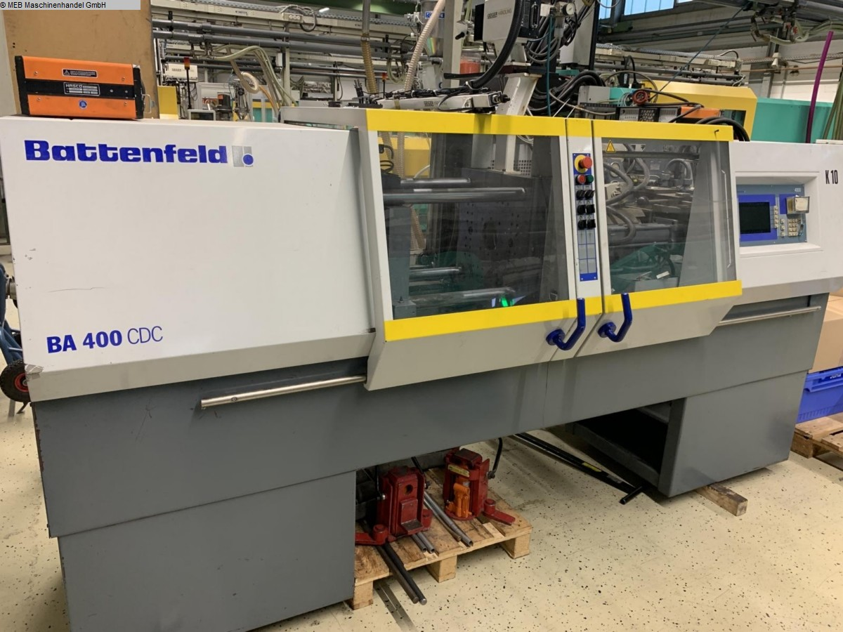 used Injection Moulding Injection-moulding machines (plastic) BATTENFELD BA 400-125 CDC