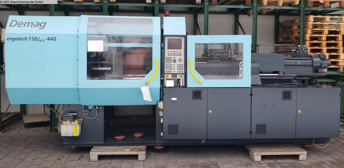 used Injection Moulding Injection-moulding machines (plastic) DEMAG ergotech 150/475-440