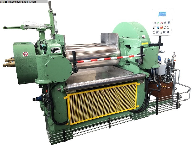 gebrauchte Mischen Walzwerk COMERIO ERCOLE Monobloc 400x1000