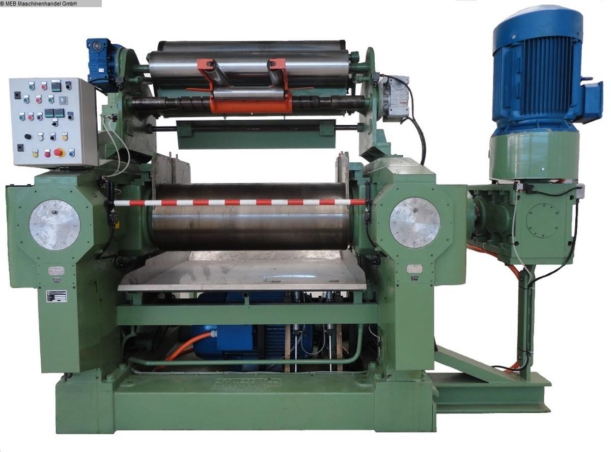 gebrauchte Mischen Walzwerk ITAL Duplocom /Pluridrive 550x1500