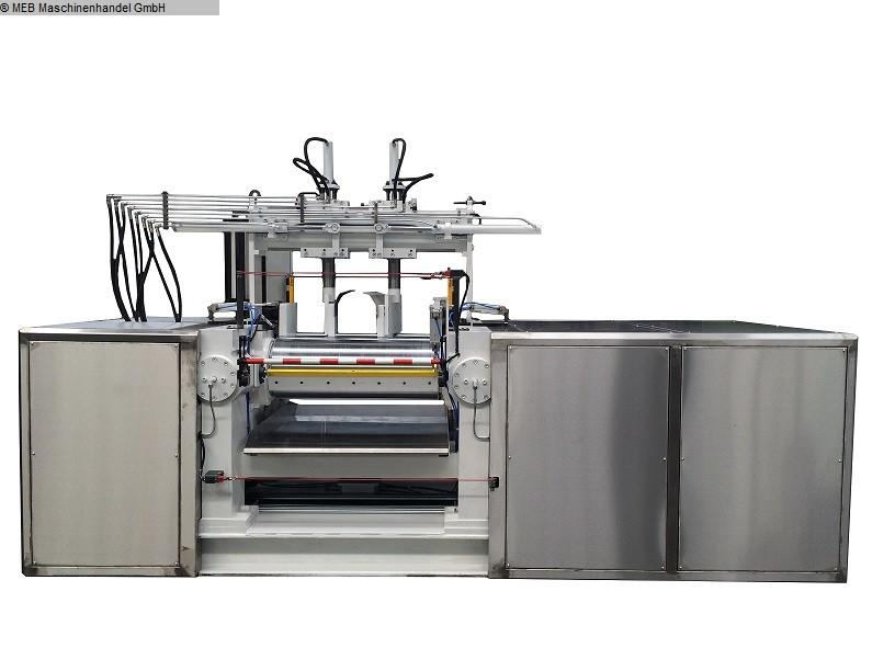 gebrauchte Mischen Walzwerk ITAL 400 x 1000 Duplocom