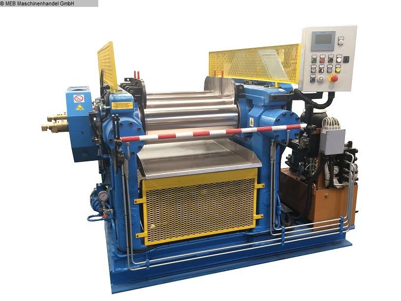 gebrauchte Mischen Walzwerk ITALMEC Monoblock 350x700