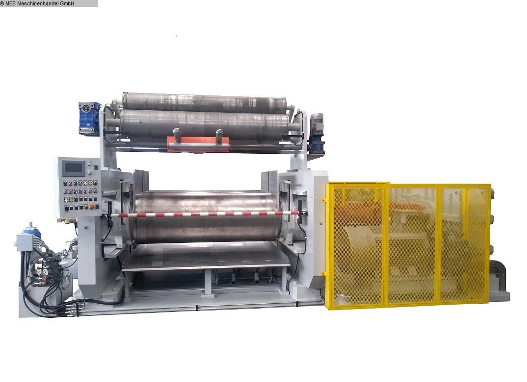 gebrauchte Mischen Walzwerk RODOLFO COMERIO 700 x 2200