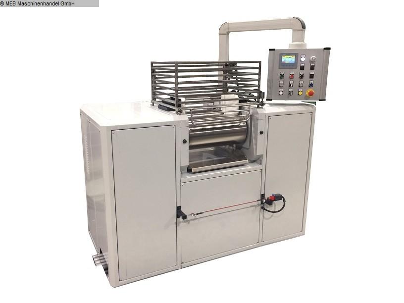 used Mixing Mixing mill Walzwerk Labor 250x500